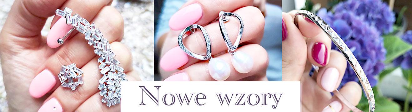 Biżuteria srebrna nowe wzory