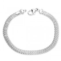 Śliczna srebrna bransoletka