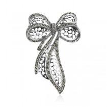 Oryginalna srebrna broszka