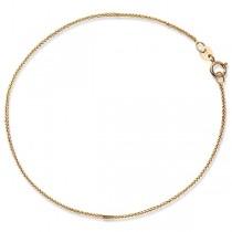 Złota łańcuszkowa bransoletka Bzx3000 próba 585