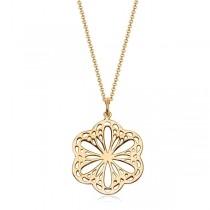 Naszyjnik srebrny 925 pokryty złotem