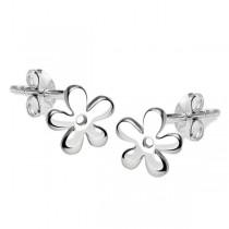 Kolczyki srebrne kwiatuszki