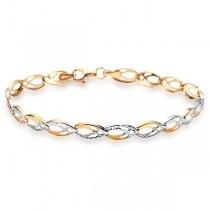 Złota piękna bransoletka BXX4851 próba 333