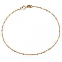 Złota łańcuszkowa bransoleta pr. 333