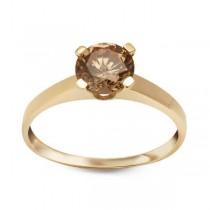 Złoty pierścionek z cyrkonią PXC5215 próba 333