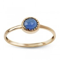 Złoty pierścionek z cyrkonią PZC5224 próba 585