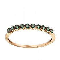 Złoty pierścionek z cyrkonią PZC5420Z próba 585