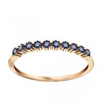 Złoty pierścionek z cyrkoniami PZC5420N próba 585