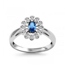 Srebrny pierścionek z cyrkonią PDK5425