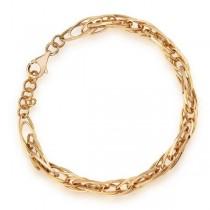Złota bransoletka BXX5453 próba 333
