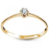 Złoty pierścionek PXC5469 próby 333