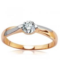 Złoty pierścionek PXC5470 próba 333