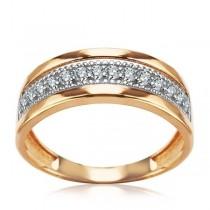 Złoty pierścionek PZC5496 próba 585