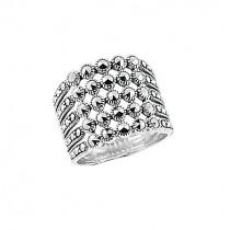 Srebrny pierścionek z Markazytami PDM5527