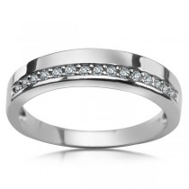 Srebrny pierścionek z cyrkoniami PDK5613