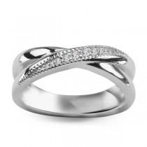 Srebrny pierścionek z cyrkonią PDK5630