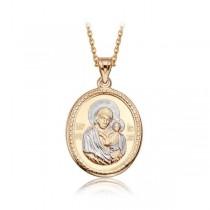 Złoty medalik WZX5731