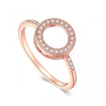 Srebrny pierścionek z cyrkonią PCS5740R
