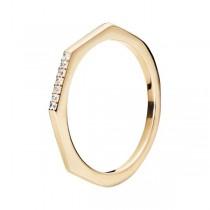 Srebrny pierścionek z cyrkonią PCS5745